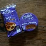 Milka kann auch Keks und Kuchen