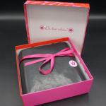 Love & Kiss – Pink Box mit Botschaft
