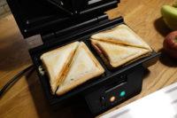 Leckere Snacks aus dem Sandwichmaker