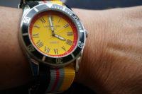 WM mit der Deutschland-Uhr von Otto Weitzmann