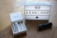 Go eneloop – die wiederverwendbaren Batterien von Panasonic