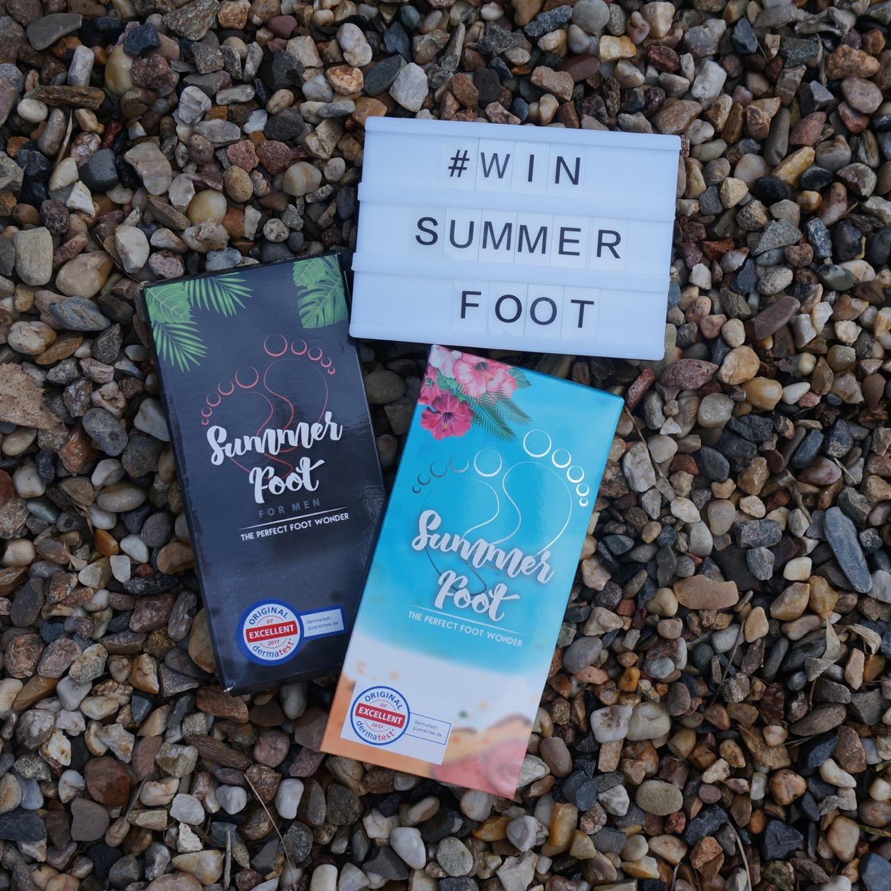summer foot mit sch nen f en in die warme jahreszeit. Black Bedroom Furniture Sets. Home Design Ideas