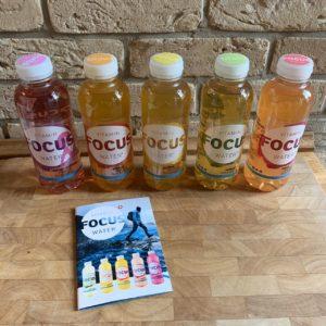 FOCUSWATER – Durstlöscher mit Vitaminen + Gewinnspiel